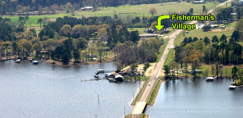 Map Amp Directions To Fisherman S Village At Toledo Bend Lake